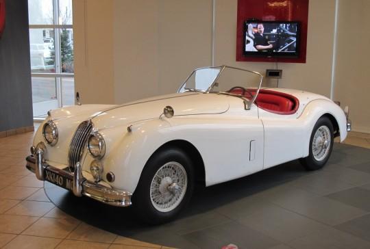 1956 Jaguar XK 140 MC Roadster: SOLD
