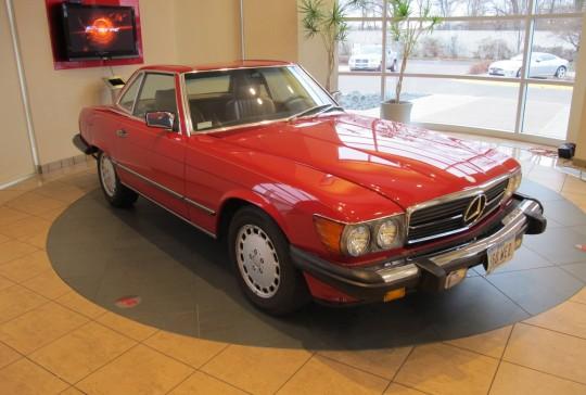1986 Mercedes 560SL: SOLD