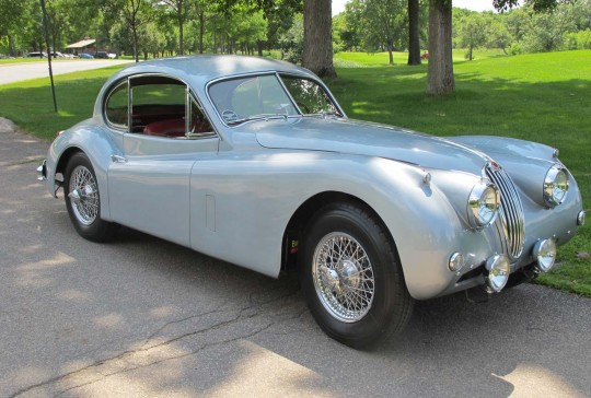 1956 Jaguar XK140 Fixed Head Coupe: SOLD