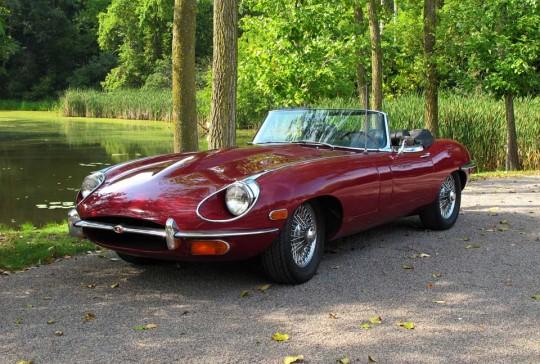1970 Jaguar Series II E Type Roadster: SOLD
