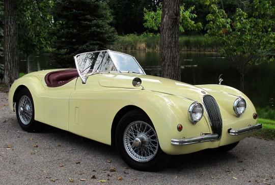 1954 Jaguar XK120: SOLD