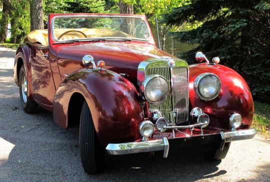 1949 Triumph 2000: SOLD