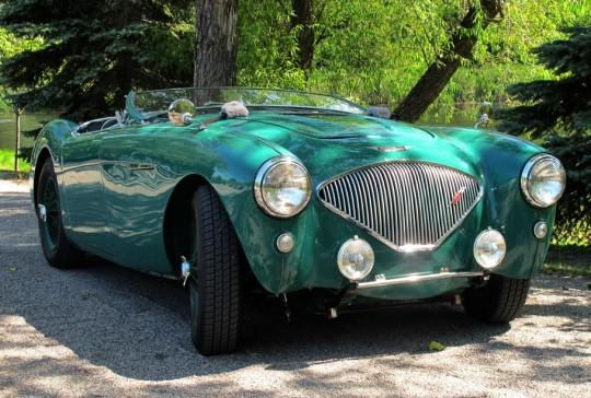 1955 Austin Healey 100: SOLD