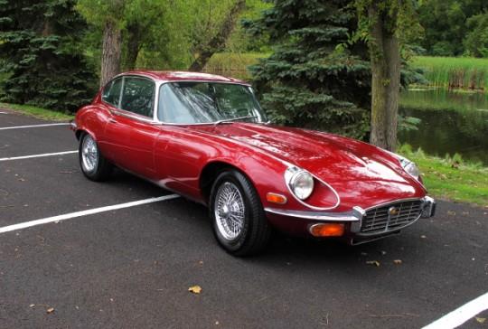 1971 Jaguar XKE 2+2: SOLD