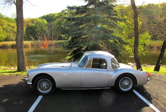 1960 MGA Coupe: SOLD