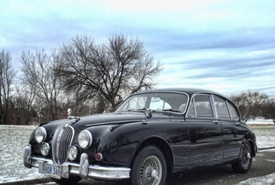 1963 Jaguar Mark II Sedan: SOLD