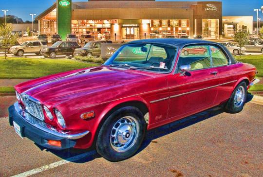 1975 Jaguar XJC: SOLD