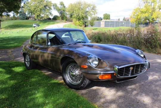 1972 Jaguar XKE Coupe: SOLD