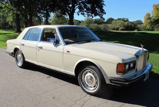 1985 Rolls Royce Silver Spirit: SOLD