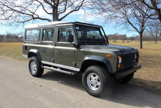 1997 Land Rover Defender 110 Station Wagon: SOLD