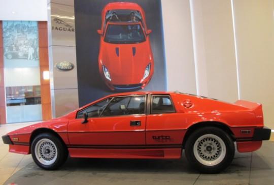 1983 Lotus Esprit Turbo: SOLD