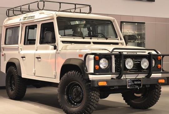 1993 Land Rover Defender 110: SOLD