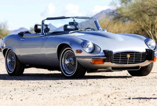 1974 Jaguar XKE: SOLD