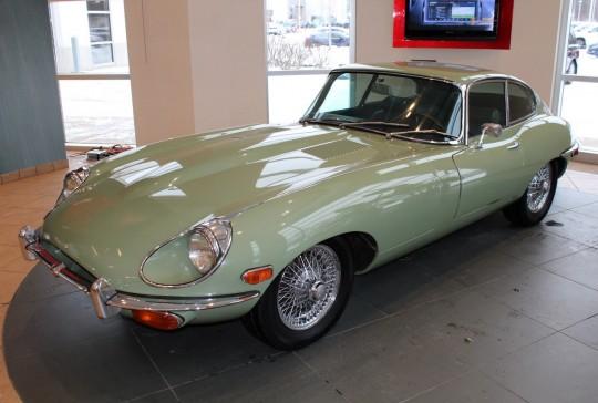 1970 Jaguar XKE Coupe: SOLD