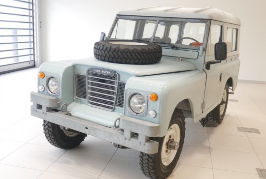 1974 Land Rover Series III: SOLD